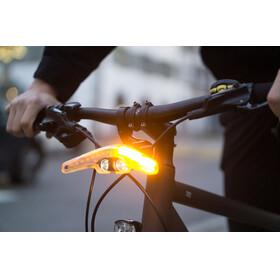Blinkers Laser Blinker Rücklicht mit Richtungsblinker-Funktion, Bremslicht und Laserprojektion